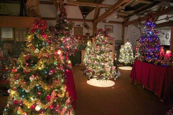 Christmas Display - Queens County Museum